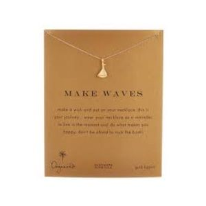 Dogeared Make Waves Nautical Sailboat Necklace